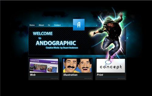 andographic.co.uk Website Design