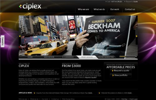 ciplex.com Website Design