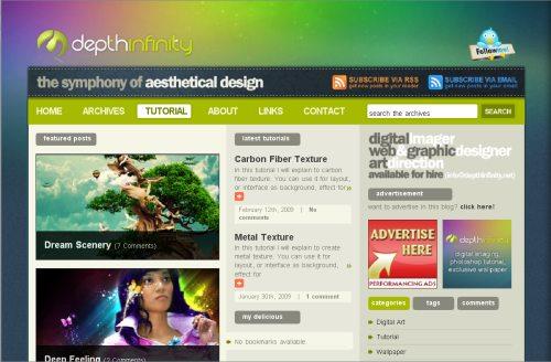 Дизайн веб страницы это