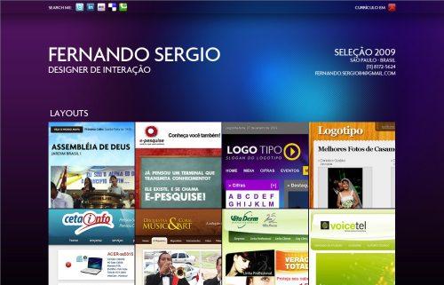 fernandosergio.com.br Website Design