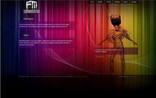 fmcommunication.it Website Design