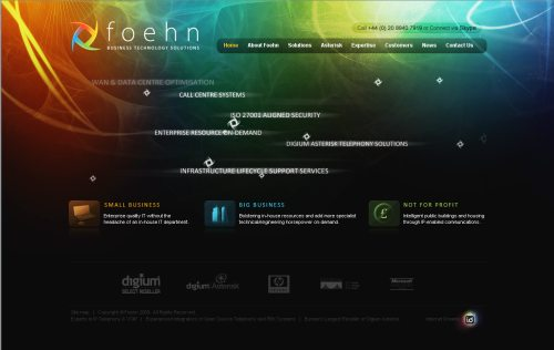 foehn.co.uk Website Design