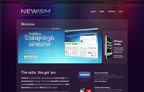 newism.com.au Website Design