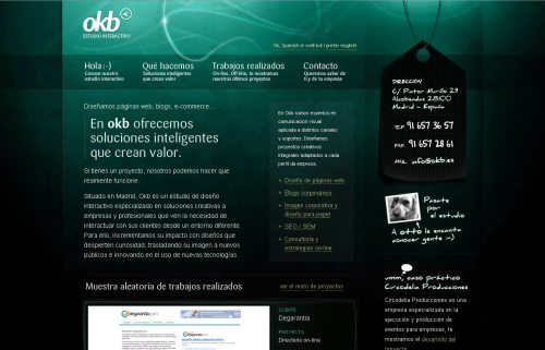 okb.es Website Design