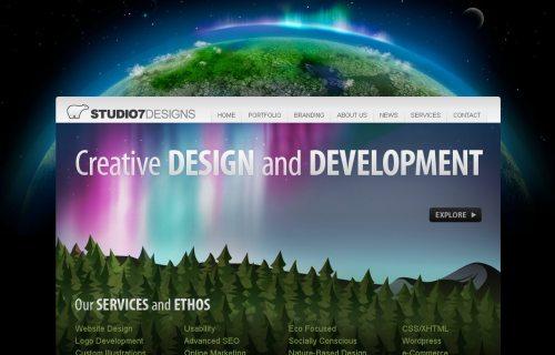 studio7designs.com Website Design