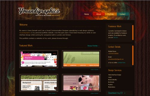 youandigraphics.com Website Design