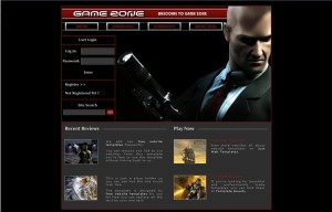 gamezone_web_template