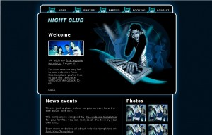 night_club_web_template