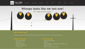404 error frye wiles
