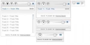 Kostenloser MP3 Musik Player für Webseiten