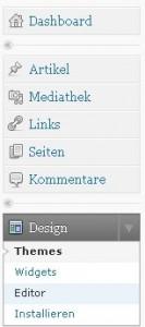 wordpress design editor