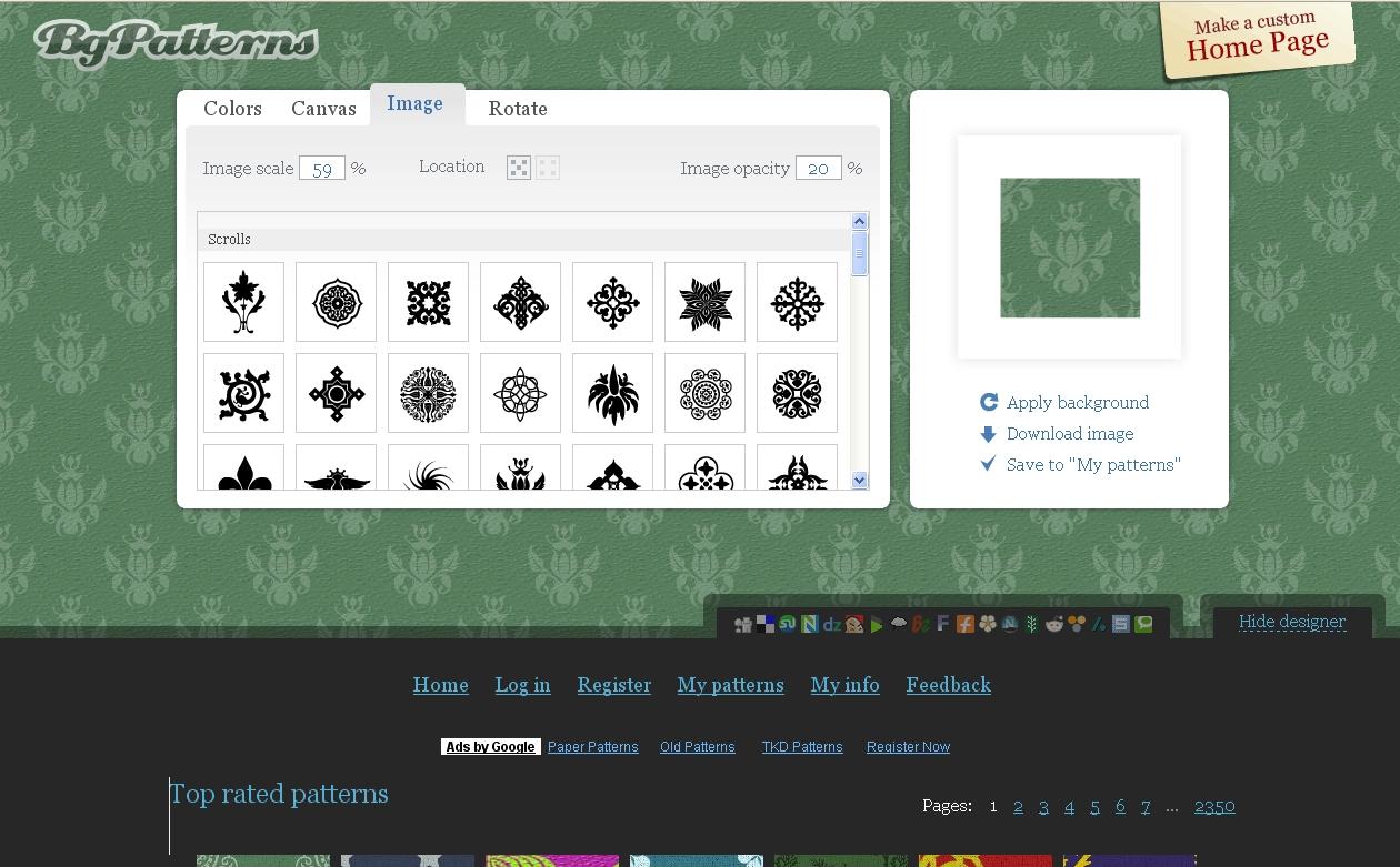 Hintergrundmuster fur webseiten